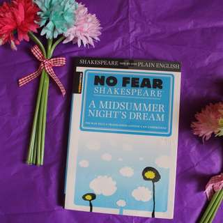 Sparknotes No Fear Shakespeare A Midsummer Night's Dream