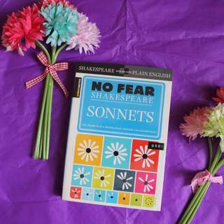 Sparknotes No Fear Shakespeare Sonnets