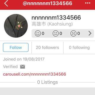 WATCH OUT SCAMMER!!