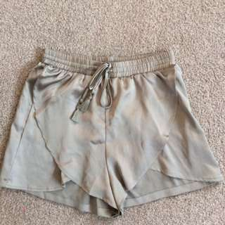 BooHoo Satin Shorts