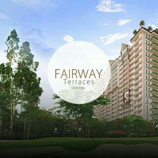 2 Bedroom Pre Selling Rent to Own No Spot Cash  Downpayment Condo Fairway Terraces in Villamor Golf Course Pasay City