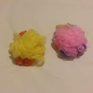Bath animal sponges