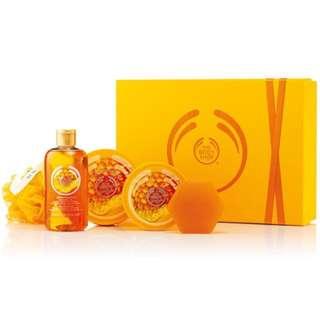 The Body Shop Honeymania Bath Set