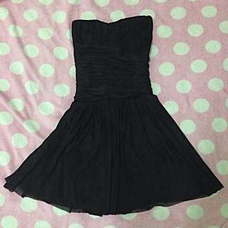 Black Tube Dinner Dress
