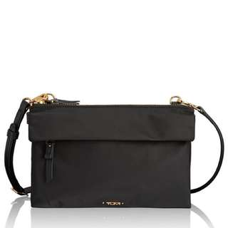 Tumi voyageur tristen sling/crossbody bag black