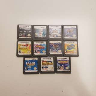 DS Game Cartridges