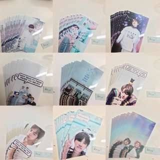 bts fansite unofficial photocards