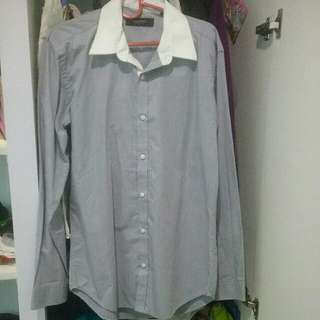 Kemeja Executive Muscles Size 15 1/2