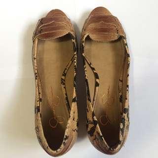 Peeped Toe Flats