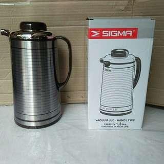 Termos air panas 1,3 lt, vacuum jug sigma