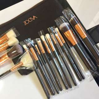 15pcs Zoeva Brush Set