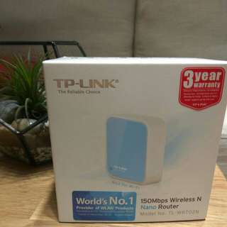 [CNY Sales] - TP-Link 150Mbps Wireless N Nano Router