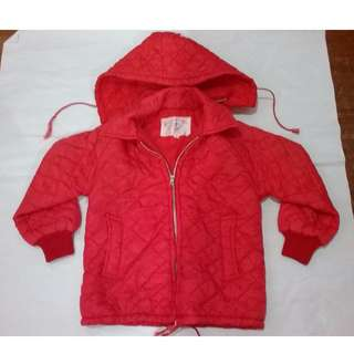 (SOLD) Children Red Jacket