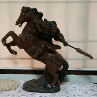 Vintage Zi Sha Guan Kong (紫砂关公)