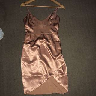 Meshki satin dress