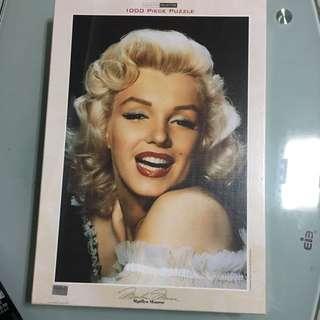 1000 Piece Marilyn Monroe Puzzle