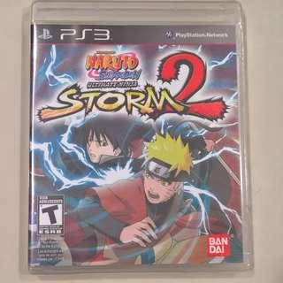 Naruto Shippuden Ultimate Ninja Storm 2 (PS3) (Brand New Sealed)