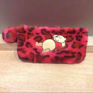 🍉[BN] London Furry Winnie the Pooh pencil case