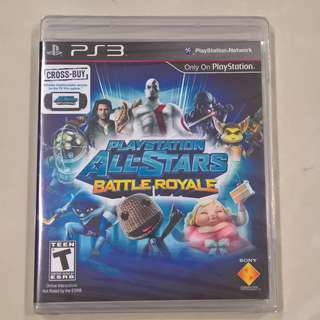 PlayStation All-Stars Battle Royale (PS3) (Brand New Sealed)