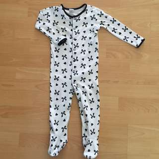 Ribbon Sleepsuit