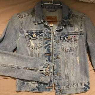 Hollister 丹寧外套 牛仔外套 AF denim jacket