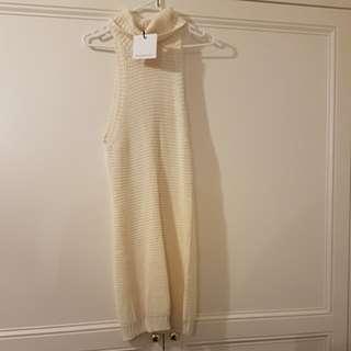 Rosebullet knit dress