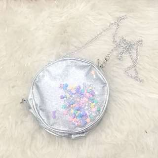silver slingbag