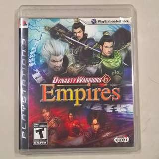 Dynasty Warriors 6 Empires (PS3)