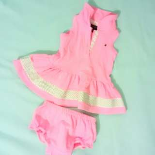 Tommy Hilfiger Pink Dress (3-6 months)