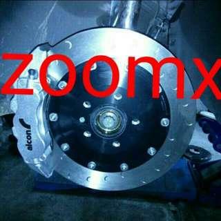 Alcon Extreme Advantage Big Brake Kit Bbk Mono 4 And Mono 6