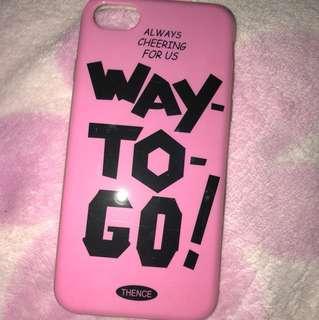 Case iphone 7 (soft case)