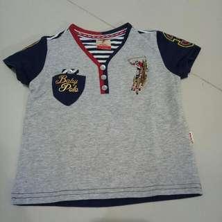 Baju Polo Bayi 6-12bulan