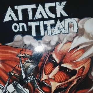 Attack on Titan VOL 1 + 2