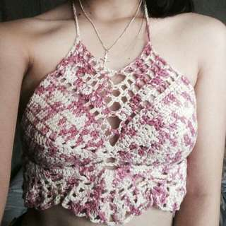 Crochet Crop top 💓