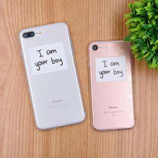 I am your boy soft TPU case