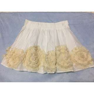 Abercrombie and Fitch Ruffles Skirt