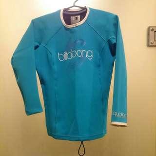 Repriced! Billabong Wetsuit Top 0.5mm / rashguard / swimwear