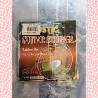 Guitar Strings (w/o 1st E string)