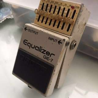 (Made in Japan) Boss GE-7 Equalizer