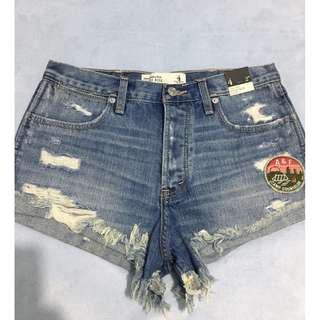 On SALE! Authentic Abercrombie and Fitch High Rise Short