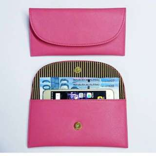 Georgia Wallet Fuchsia Pink