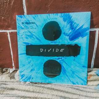 Divide by Ed Sheeran Vinyl Record Plaka LP CD