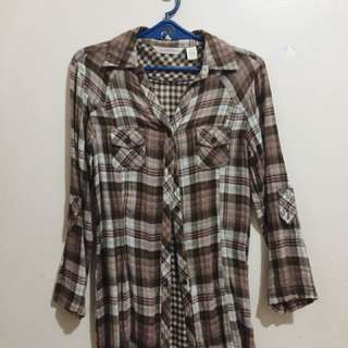 Plaid Long Sleeves