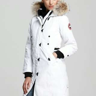 Canada goose long white size S