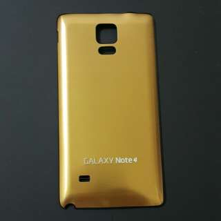Note 4 back thin cover - Gold