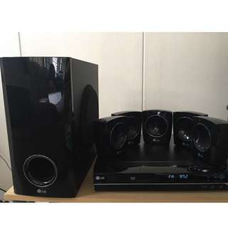 Sound system with DVD player selling cheap!