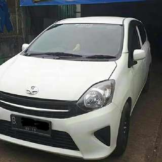 Toyota Agya E automatic 2014 Putih