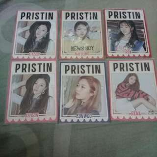 WTS PRISTIN PROFILE PHOTOCARD