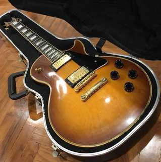 1991 Gibson USA Les Paul Custom Honey Burst