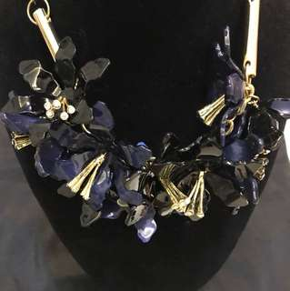 New Marni Blue necklace